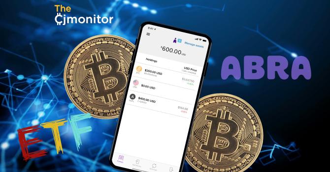Приложение Abra позволяит покупать акции Facebook и Apple за биткоин