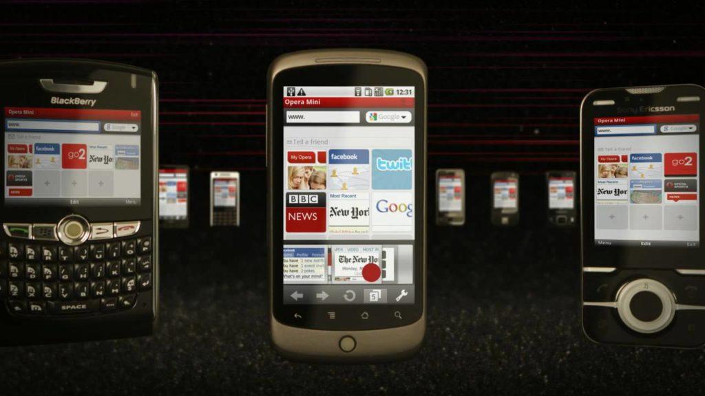 Встречаем! Opera Mini для телефонов