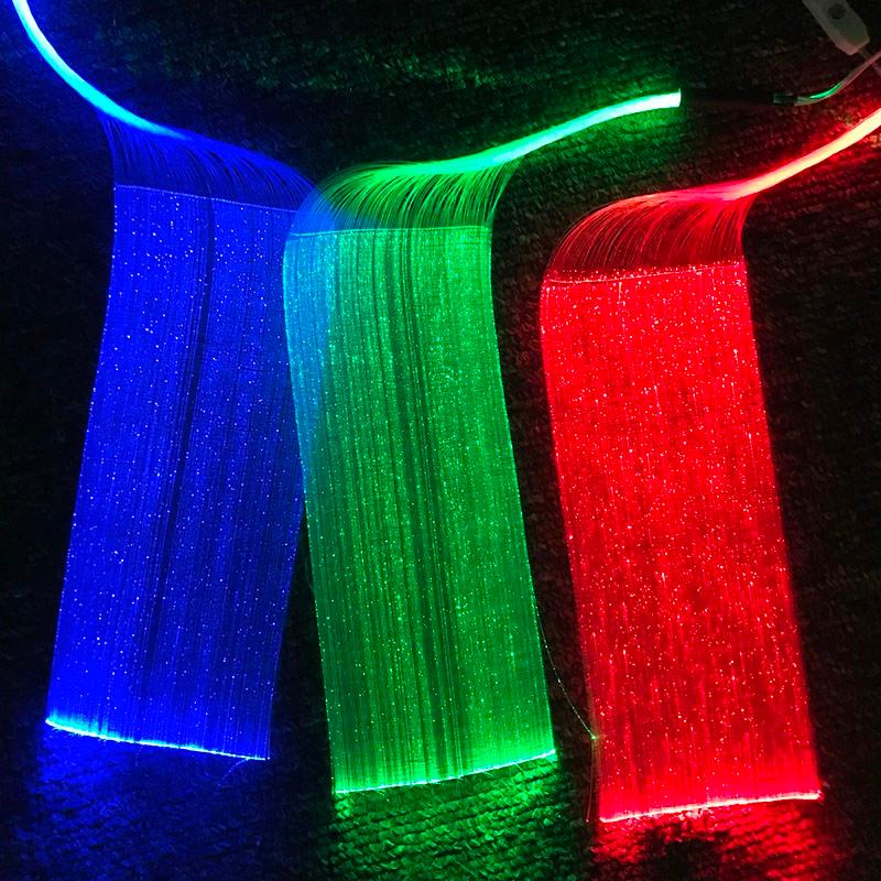 Оптоволоконные технологии в производстве светящейся ткани