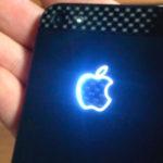 Логотип с LED-подсветкой будущего iPhone послужит индикатором уведомлений