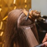 Салон красоты на дому. Услуга - ленточное наращивание волос