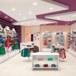 Открытие магазина детской одежды