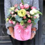 Нестандартный подход к доставке цветов