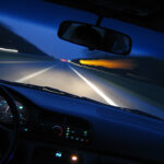 Правила ночной поездки на автомобиле